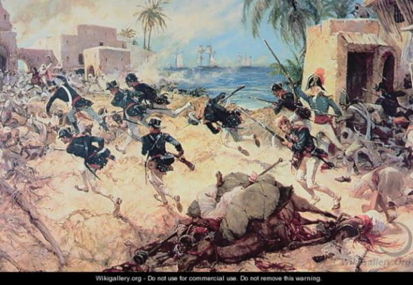Libya Battle of Derne