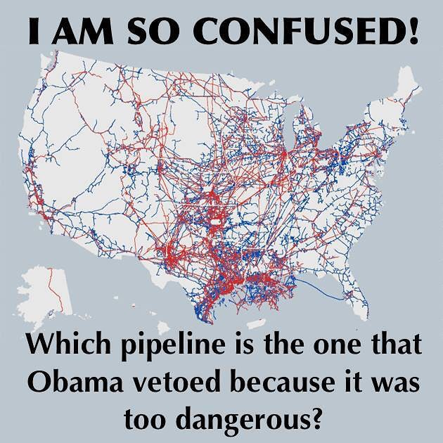 USA PIPELINE MAP