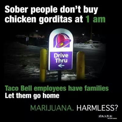 weed is bad